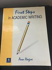 FIRST STEPS IN ACABEMIC WRITING