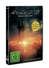 EVANGELION: 1.01 - YOU ARE (NOT) ALONE DVD NEU