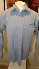 FERAUD PARIS 17 1/2  35 LS Stripe Cotton Dress Shirt Designer French Cuffs EUC