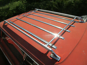 1967 FORD GALAXIE COUNTRY SQUIRE WAGON ROOF LUGGAGE RACK WITH ROOF MOLDING KIT