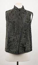 NWT BRUNELLO CUCINELLI Women's Green Astrakhan Fur Jacket Vest Size 6/42 $16465