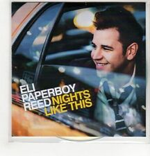 (GH489) Eli Paperboy Reed, Nights Like This - 2014 DJ CD