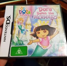 Dora The Explorer Saves The Mermaids -  NDS - Nintendo DS / 3DS - FREE POST