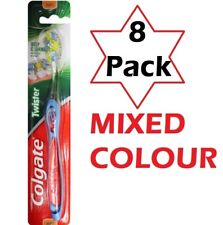 8 x COLGATE TOOTHBRUSH DEEP CLEANING TWISTER SOFT 100% Brand New