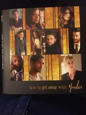 """""""How To Get Away With Murder"""" DVD 2017 Pressbook Emmy FYC NEW 2 Episodes ABC"""