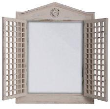 Spiegel Jalousie antik Wandspiegel Spiegelfenster WD 05 Landhaus