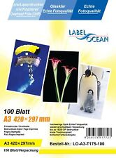 100 Feuilles A3 Film Transparents Rétroprojection OHP Compatible Laser