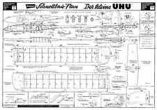 Graupner Der Kleine Uhu 4247 planes