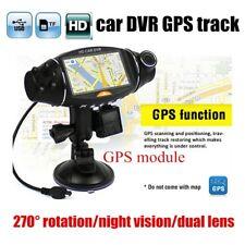 2.7'' Lcd Lcd Video Recorder Car Camera Dvr Ir Night Vision G-Sensor Dual Lens