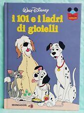 LIBRO PER RAGAZZI-I 101 E I LADRI DI GIOIELLI-LEGGERE CON TOPOLINO-DISNEY-1983