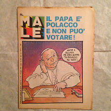 IL MALE SETTIMANALE POLITICO DI SATIRA N.16 MAGGIO 1979