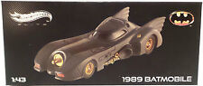 BATMAN THE MOVIE : 1/43 SCALE BATMOBILE MADE BY MATTEL. HOTWHEELS (SC) (TK)