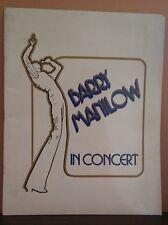 BARRY MANILOW 1978 Tour Concert Program Book