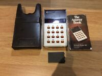 Vintage Rockwell 10R Calculator 8 digit with manual and case.