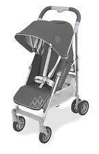 Maclaren 2021 Techno Arc Stroller, Charcoal/Silver + Rain Cover! - NEW! Open Box