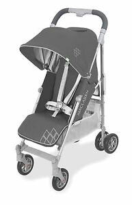 Maclaren 2021 Techno Arc Stroller in Charcoal / Silver With Rain Cover!