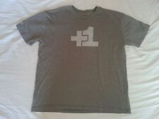 Facebook T Shirt +1 Plus 1 Friend Old School Chase Bank Great Gift tee