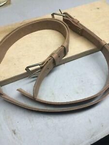 NEW strap leather fastening for Big Box 6MX Marine Chronometer