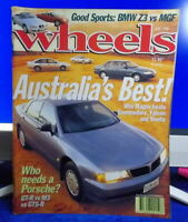WHEELS Magazine 1996 JUNE : Magna - Commodore - Falcon - Vienta - BMW Z3 /HOLDEN
