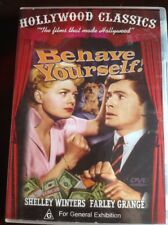 BEHAVE YOURSELF! Shelley Winters Farley Grange Like New B/W DVD R All