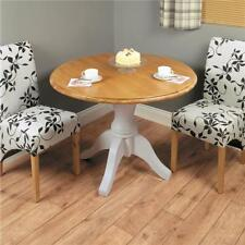 Less than 60cm High Oak Round Kitchen & Dining Tables
