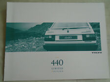 Volvo 440 Limited Edition brochure c1990