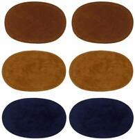 3 Pairs Sew on Suede Knee Elbow Patches Sewing DIY Patch for Jeans Sweaters