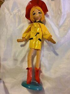 "Vintage Big Eye Mod Cloth Pose Doll Toy  16"" 60's Rare"