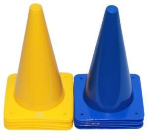 Pferdesport - 20er Set Pylonen 30 cm - mit Tragetasche (10x gelb, 10x blau)