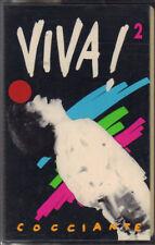 """RICCARDO COCCIANTE """" VIVA 2 """"  MC MUSICASSETTA  NUOVA  K7"""