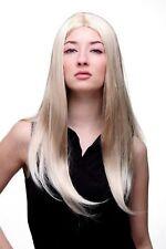 Perücke ELFENHAFT blond lang glatt Perrücke Engel Elbin Mittelscheitel SA-151