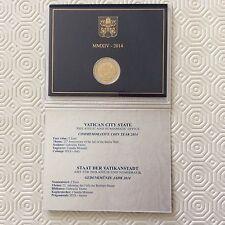 Coffret de 2 € commémoratif Vatican 2014