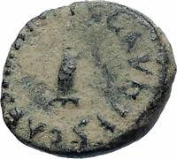 CLAUDIUS Authentic 41AD Rome Food MODIUS Original Ancient Roman Coin i74885
