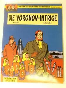 Blake und Mortimer Bd. 11, Die Voronov-Intrige Carlsen 1.Auflage Z 2