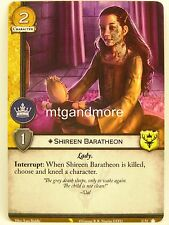 A Game of Thrones 2.0 LCG - 1x #U051 Shireen Baratheon - Valyrian Draft Pack