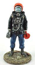 "Firefighter Figurine Fireman GREP Paris France 1978 Metal Del Prado 1/32 2.75"""