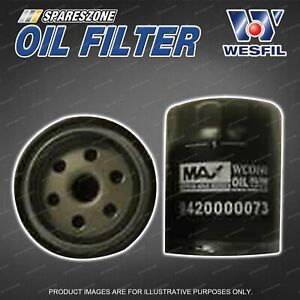 Wesfil Oil Filter for Mahindra Genio Pik Up S5 XUV500 4Cyl DOHC 16V