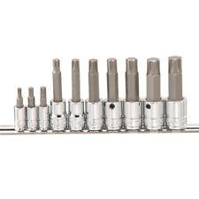 """10 Pieza 1/4 """"y 3/8"""" Ribe Bits Socket Conjunto de herramientas Genius"""