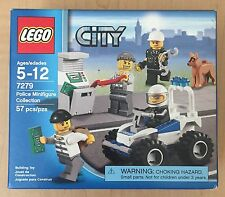 LEGO 7279 City Town Police Minifigure Collection 57 pcs. Brand NEW 2011 USA!