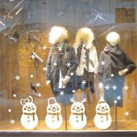 Merry Christmas Snowman Removable Wall Sticker Vinyl Art Decal Window Home·Decor