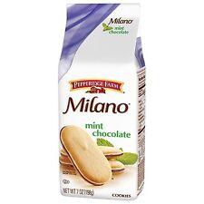 NEW PEPPERIDGE FARM MILANO MINT CHOCOLATE COOKIES 7 OZ FREE WORLDWIDE SHPPING