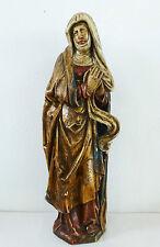 Figur @ Schutzpatronin Heilige Elisabeth @ Holzfigur handgeschnitzt