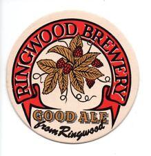 UNUSED BEERMAT - RINGWOOD BREWERY - GOOD ALE (Cat No 001) - (1981)