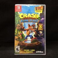 Crash Bandicoot: N. Sane Trilogy (Nintendo Switch, 2018) BRAND NEW / Region Free