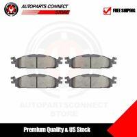 Front Premium Ceramic Disc Brake Pads For 11-19 Ford Explorer 11-12 Lincoln MKS