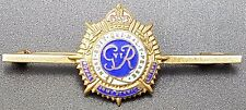 Charming WW2 Era Royal Army Service Corps Enamel Sweetheart Brooch