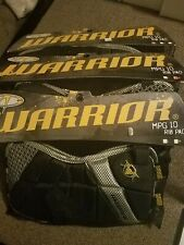 NEW Warrior Lacrosse  MPG 10 Rib Pads Size Small