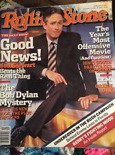 Rolling Stone Jon Stewart Green Day Bob Dylan Team America Elvis Costello R.E.M.