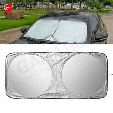 "Front Window Car Sun Shade Visor Folding UV Block Cover Windshield 59"" x 27.56"""