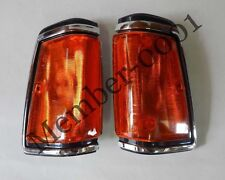 Front Corner Turn Signal Light Chr for 82-86 Nissan Datsun 720 Pickup Truck UTE